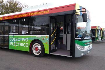 Buses eléctricos ya circulan en CABA