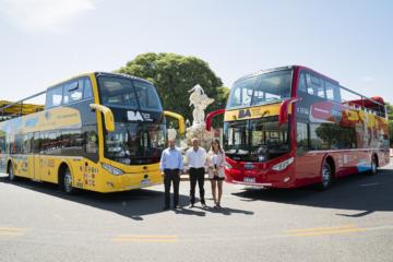 Bus Turístico: más moderno y sustentable