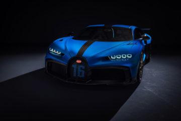 Bugatti Chiron Pur Sport, hecho para tomar curvas