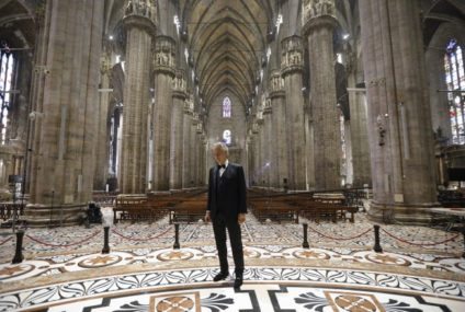 Bocelli rompe récords con Music For Hope