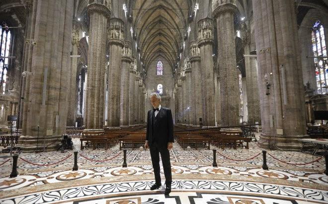 Andrea Bocelli Music For Hope