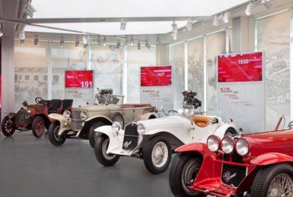 El Museo Alfa Romeo celebra los 110 años de la marca