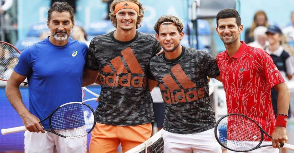 Ola de contagios en el tenis