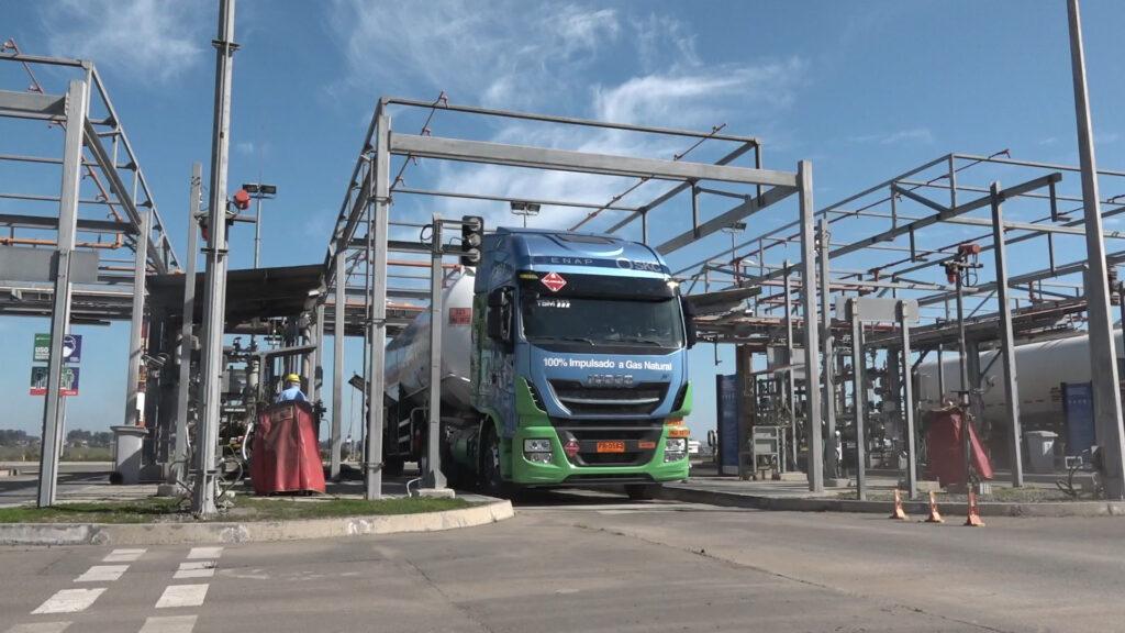 IVECO primer camión a GNL