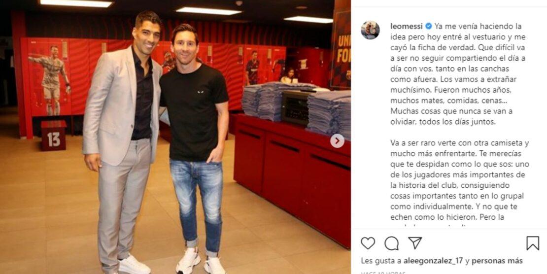Messi arremetió contra la dirigencia del Barcelona