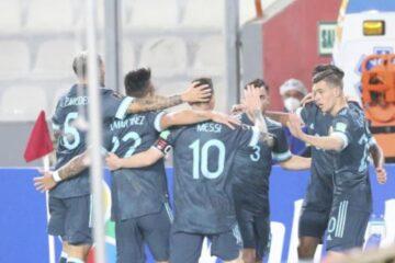 Argentina derrotó a Perú y ya piensa en el 2021
