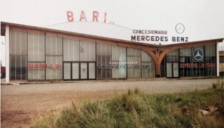 Primer Concesionario Bari en Tandil (1970)