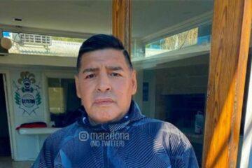 Maradona fue internado por un cuadro de deshidratación