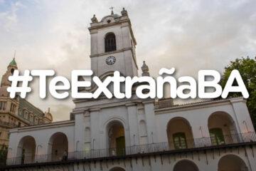 Te ExtrañaBA, la campaña de la ciudad de Buenos Aires para reactivar el turismo