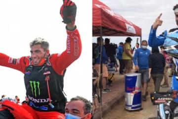 Los argentinos Kevin Benavides y Manuel Andújar campeones en el Dakar