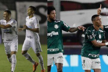 Santos – Palmeiras la final de la Copa Libertadores