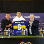 Marcos Rojo es nuevo jugador de Boca