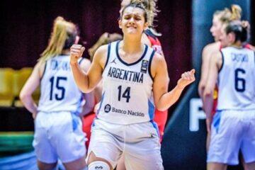 Florencia Chagas, la primera argentina en ser seleccionada en la WNBA