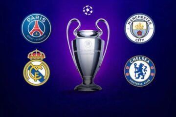 Así serán los cruces de semifinales de Champions
