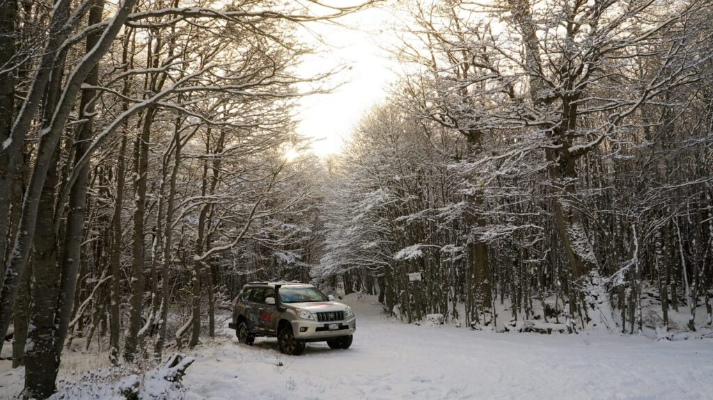 Nieve, caminos off road y 4x4 de alta gama