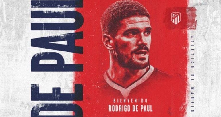 Rodrigo De Paul fue presentado en Atlético de Madrid