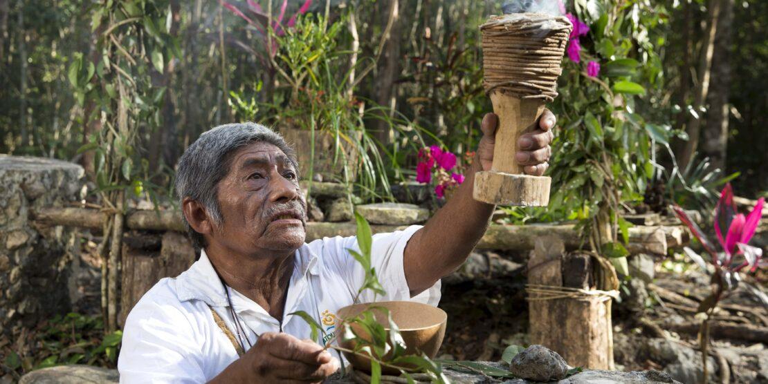 Dia de muertos en el Caribe Mexicano