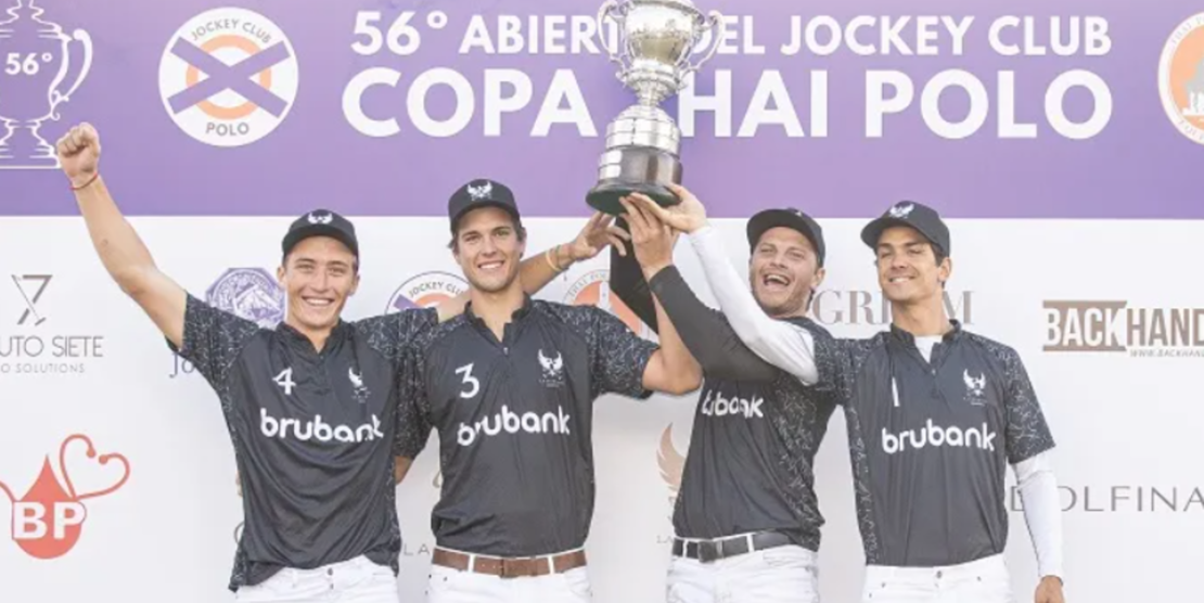 La Ensenada dió vuelta el partido, venció a La H y ganó el torneo por la Copa Thai Polo